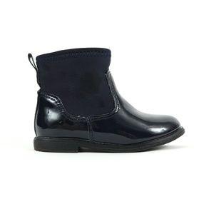 ZARA patent Chelsea boots, size 4